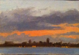 to be in plein air exhibit 11/30